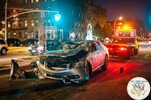 queens car accident